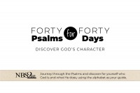 40 Psalms for 40 Days